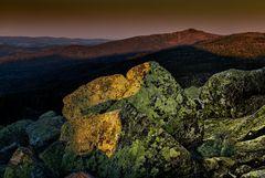 Gipfelgrüße am frühen Morgen
