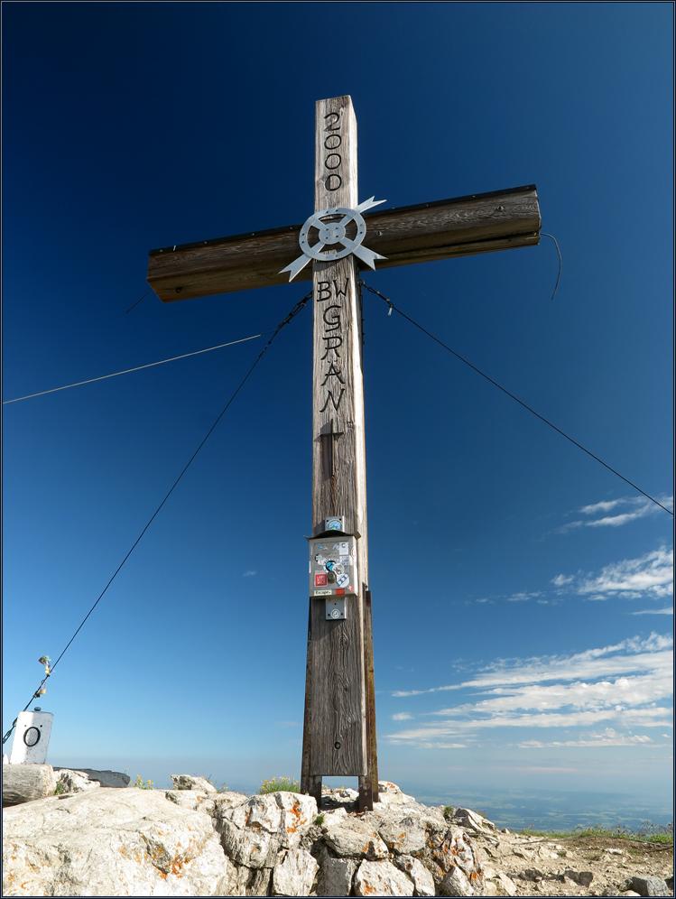 Gipfelkreuz - Aggenstein