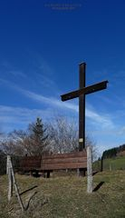 """""""Gipfelkreuz des Kapfs (auf 900m) bei Missen-Wilhams"""""""