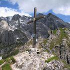 Gipfelkreuz im ...