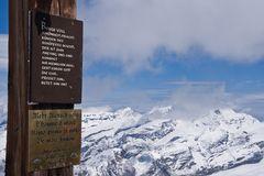 Gipfelkreuz Kleines Matterhorn
