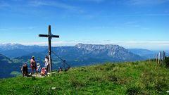 Gipfelkreuz vom Schlenken