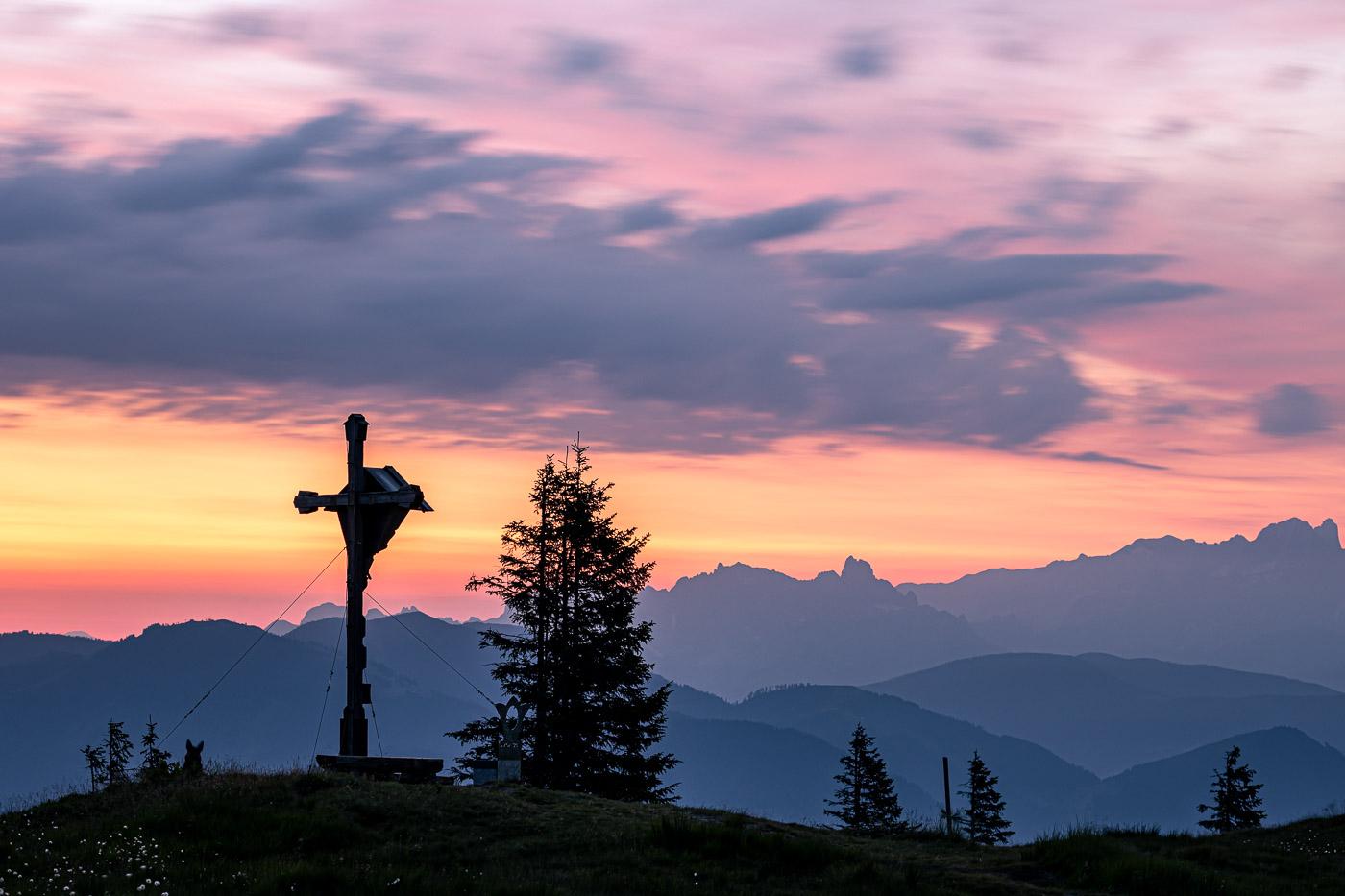 Gipfelkreuzbewacher