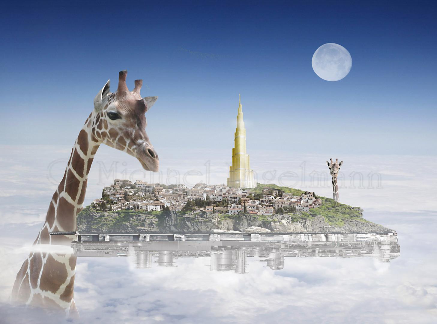 Giraffa Ingentis entdeckt, was mit Atlantis geschah