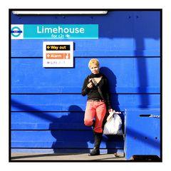 Girl at Limehouse Station