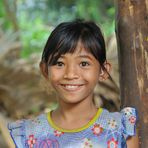 Girl from Batchum Temple