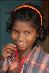 girl from saora tribe