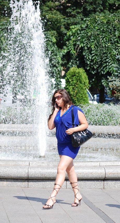 Girl in Blue....