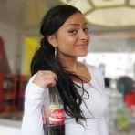Girl mit Cola Porträt