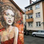GIRL Nr.7 streetart MZ J5-16-col