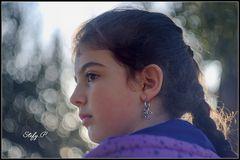 Girl with a dragon earring/La fanciulla con l'orecchino a drago