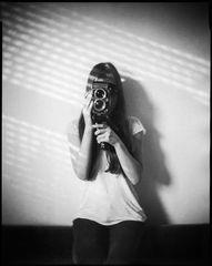 girl with a rolleiflex, 2014
