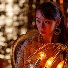 girl with light II