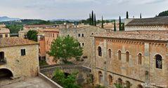 Girona - Altstadtblick