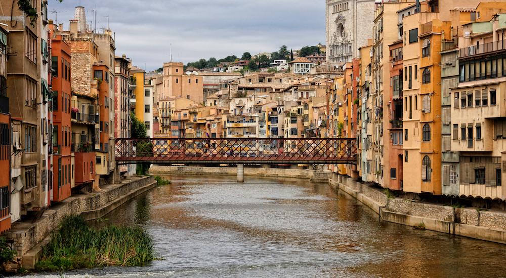 Girona - die Brücke