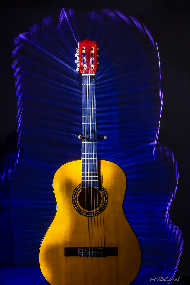 Gitarre verwaist - aber im neuen Licht