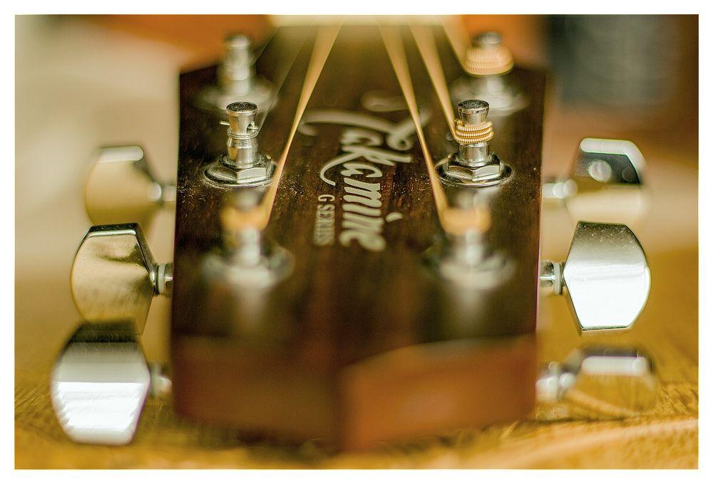 Gitarresaiten-Wirbel