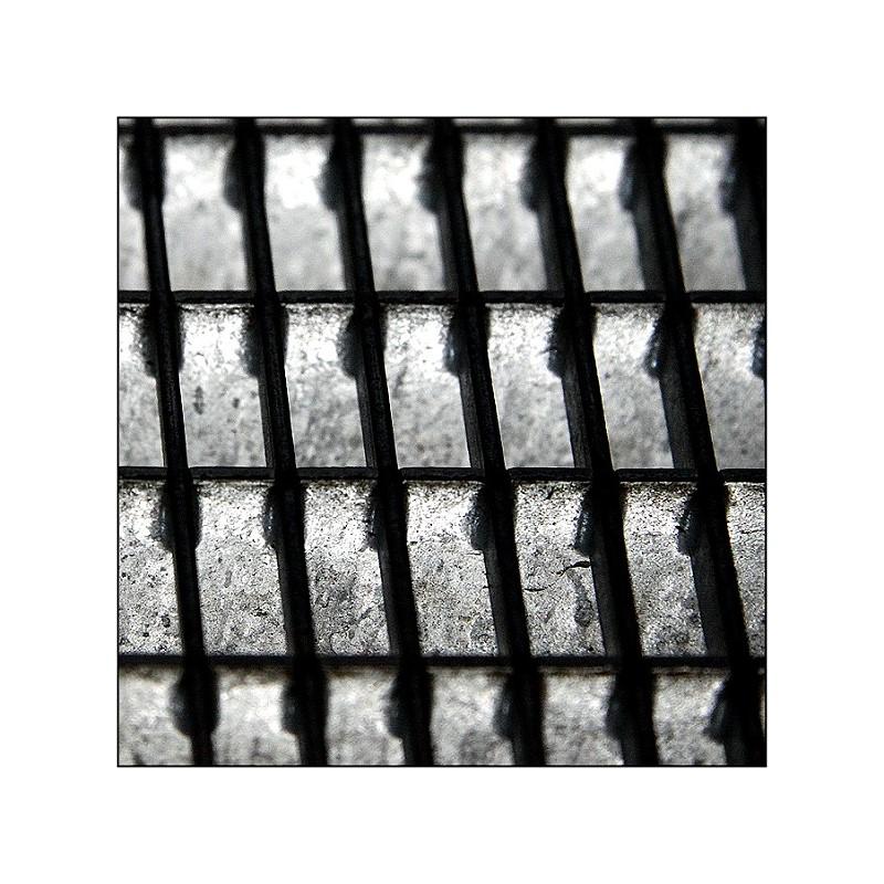 Gitter einer Treppe