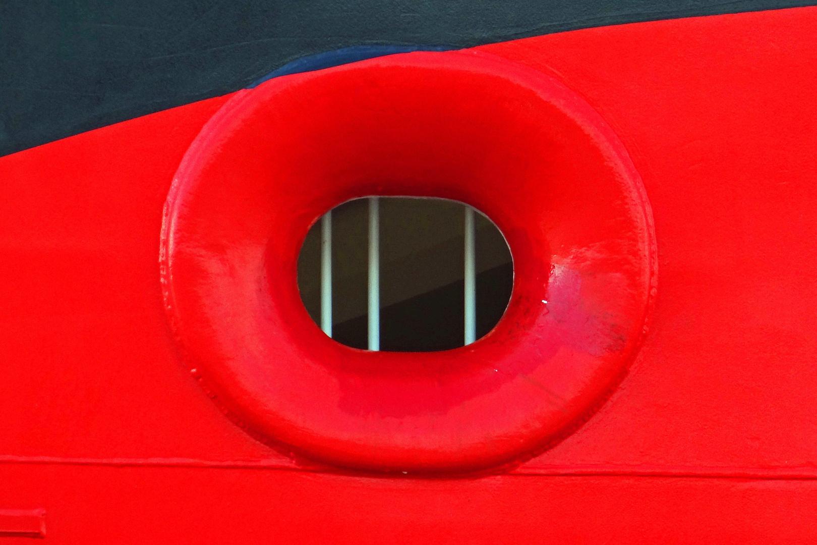 Gitter rot schwarz