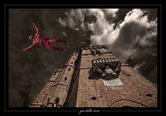 giù dalla torre...