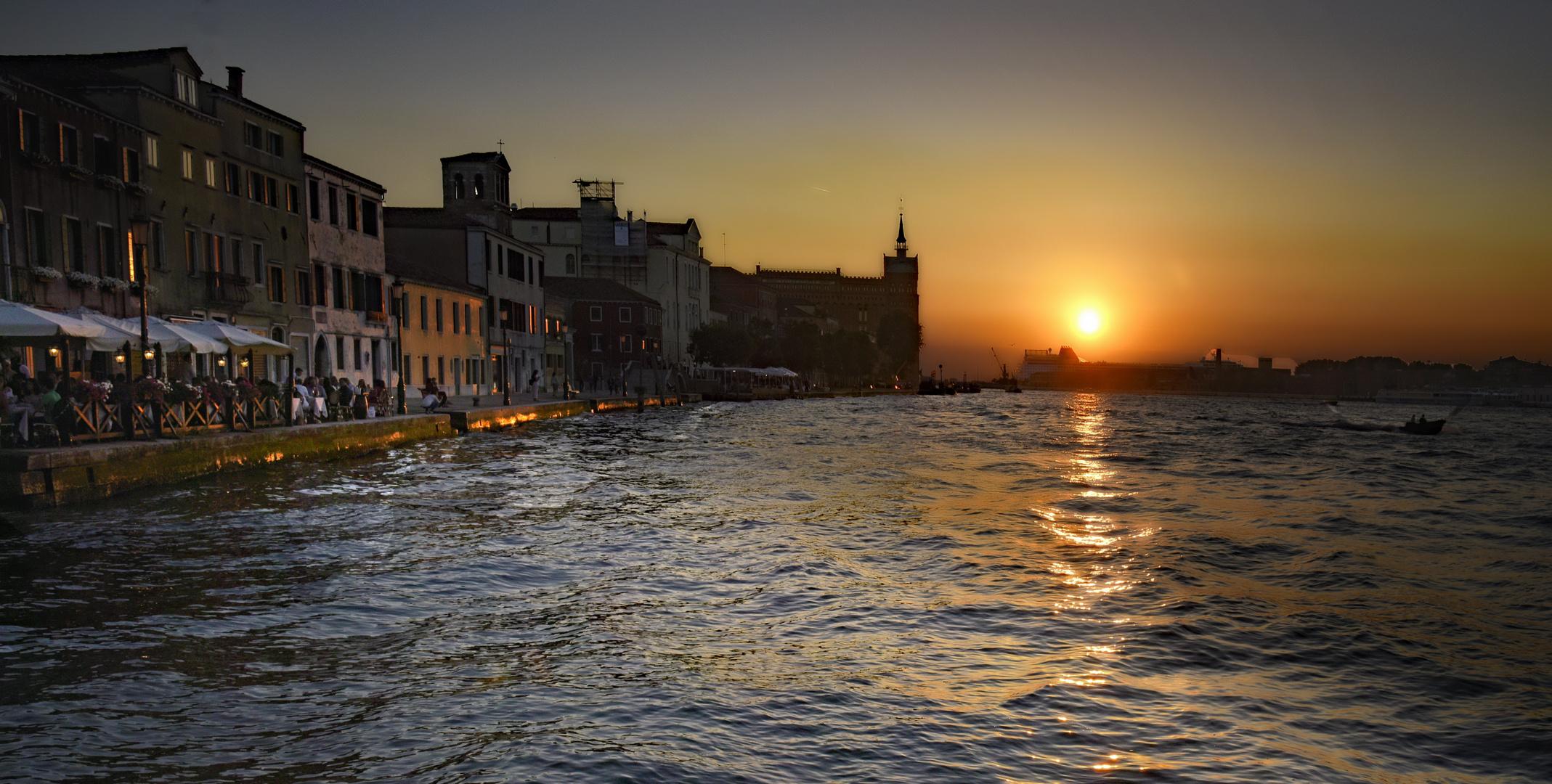 Giudecca schöne Zeiten damals .......