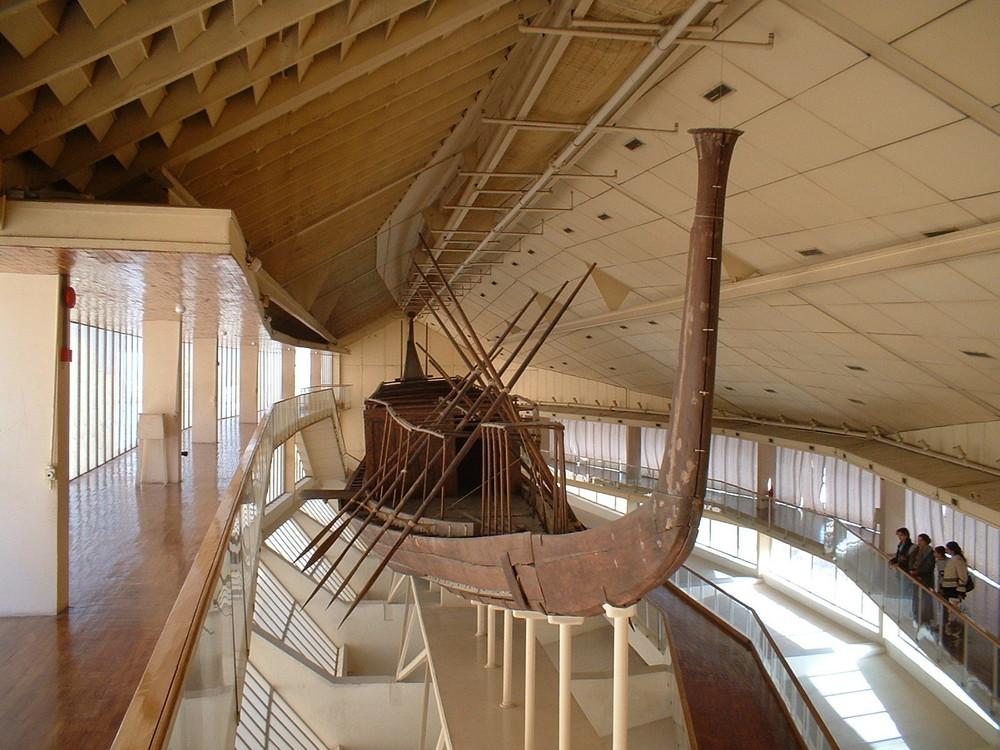 Giza; the Solar Boat