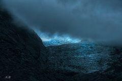 Glaciar Franz Josef.