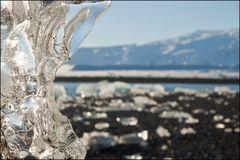 glacier beach ;-) unscharf