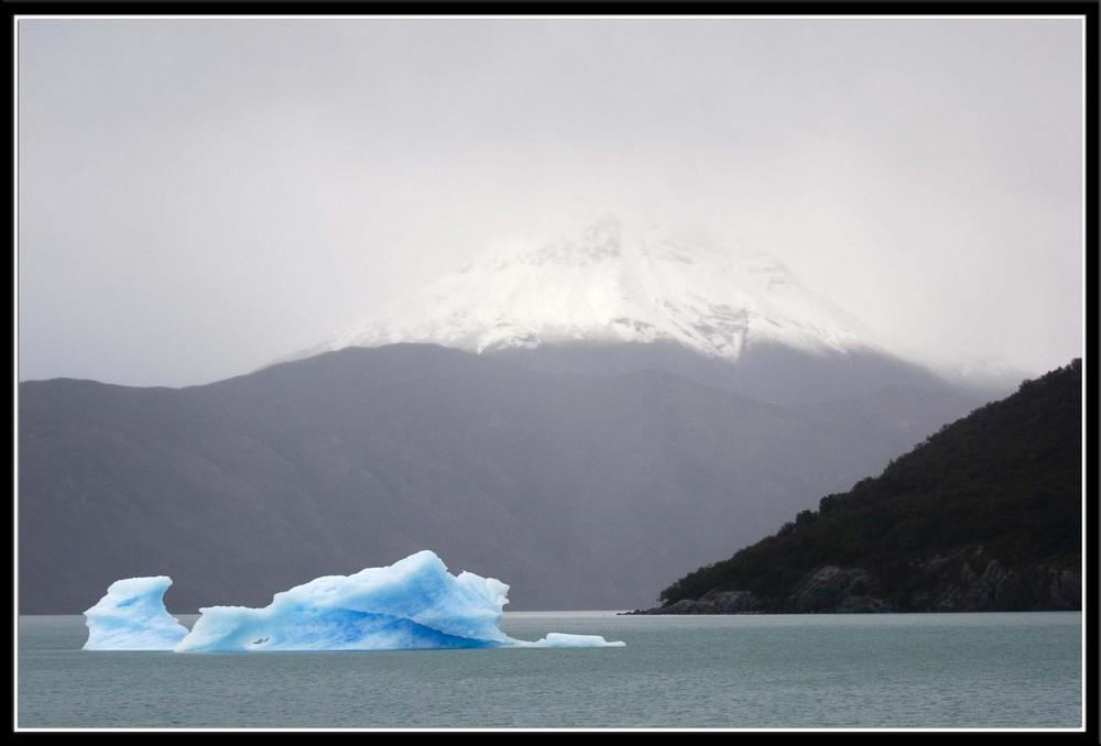 Glacier des Andes, Argentine