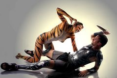 Gladiator vs Tigerlady