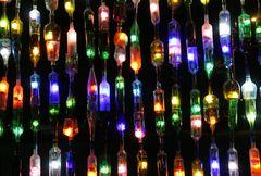 Glas Recycling Ideen auf Costa Rica Art.