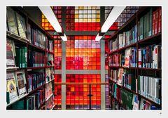 Glasbausteinwand in der Staatsbibliothek Berlin