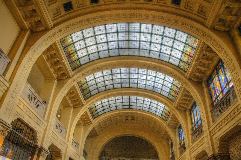Glasdach Gellertbad Budapest