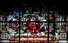 Glasfenster in der Wallfahrtskirche Swieta Lipka ( Heilige Linde) 1