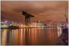 [glasgow - clydeport night]