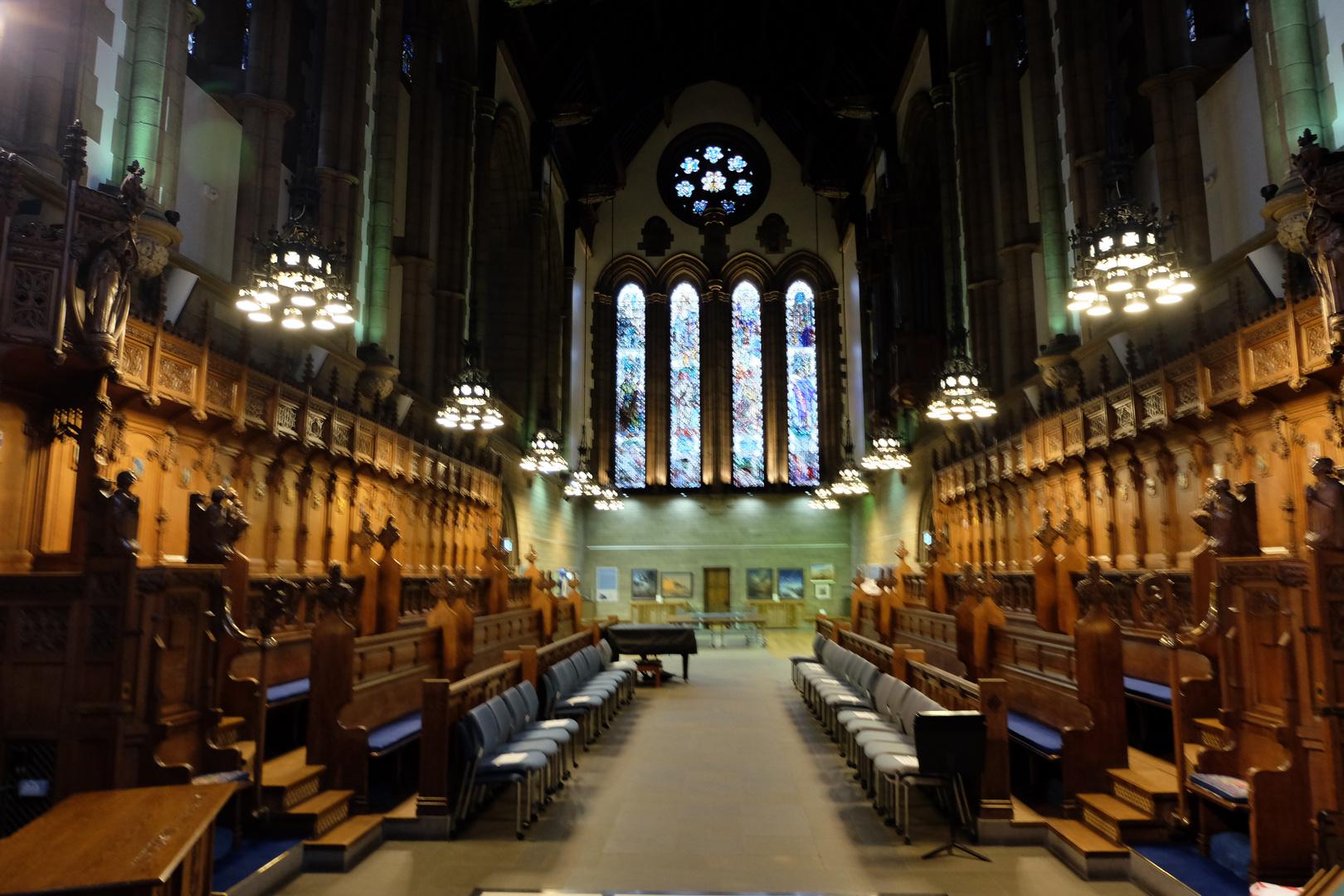 Glasgow, Scotland (3), University of Glasgow Memorial Chapel
