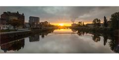 [glasgow - sunrise over clyde - reloaded]