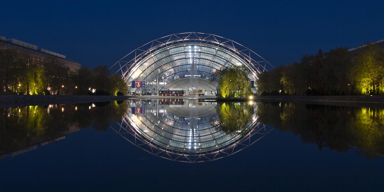 Glashalle Leipziger Messe