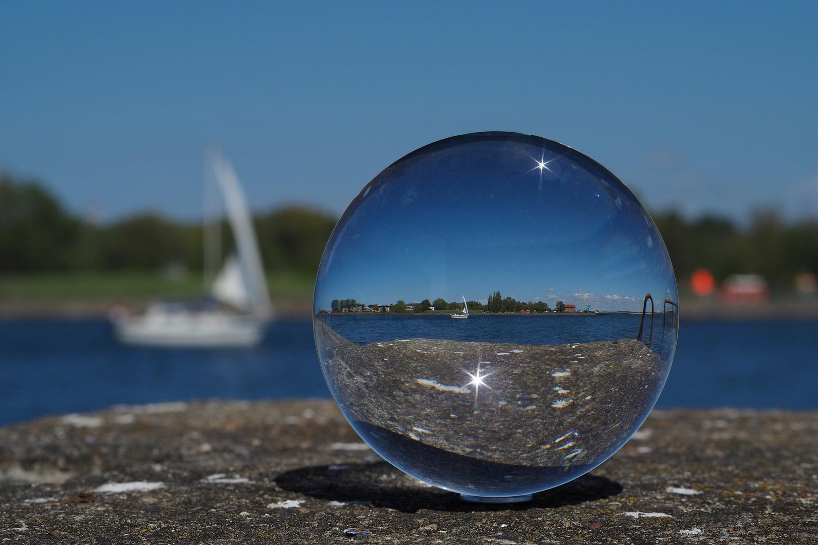 Glaskugel-Fotografie