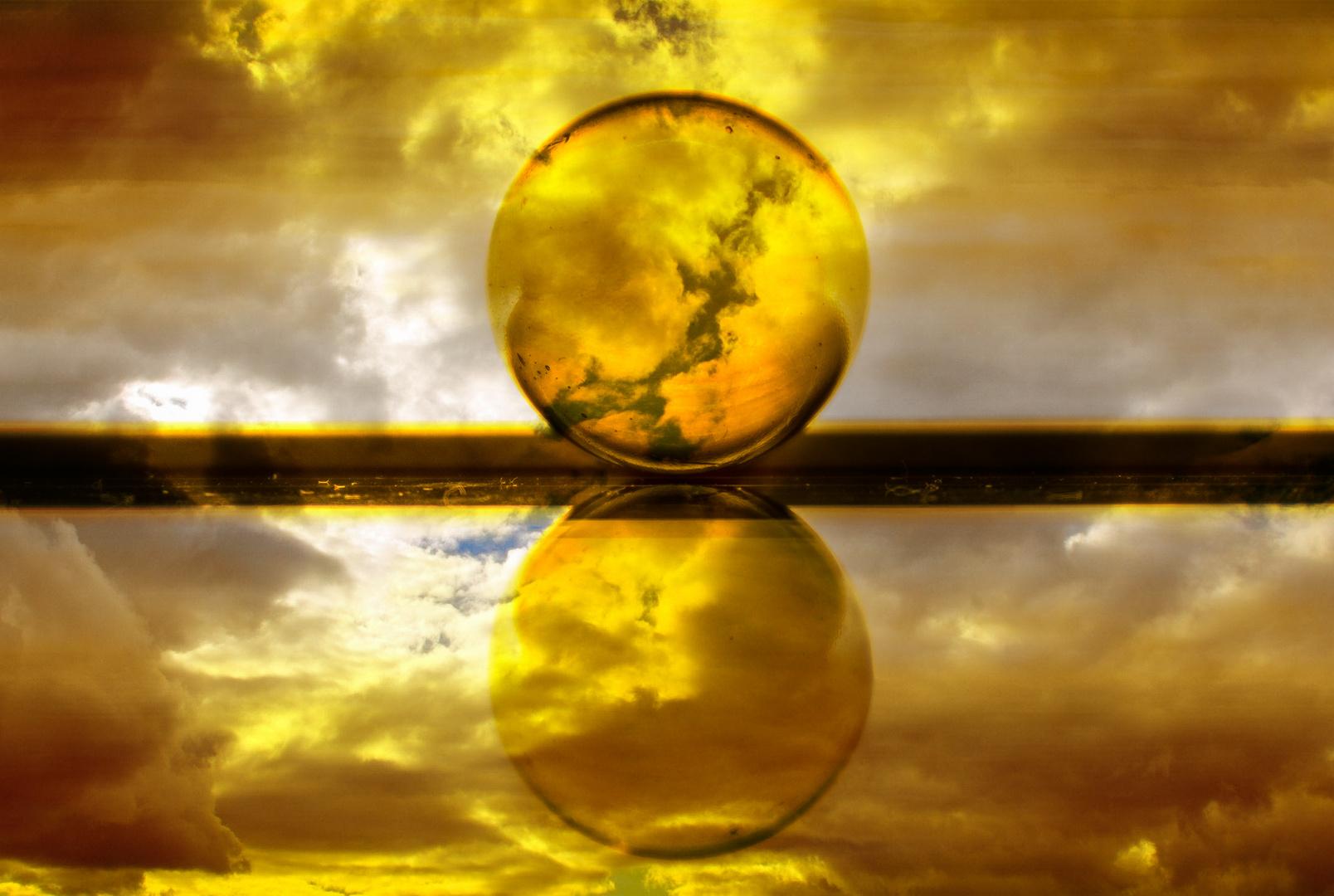 Glas:Kugel Parallelwelten