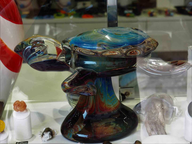 Glaskunst Schildkröte