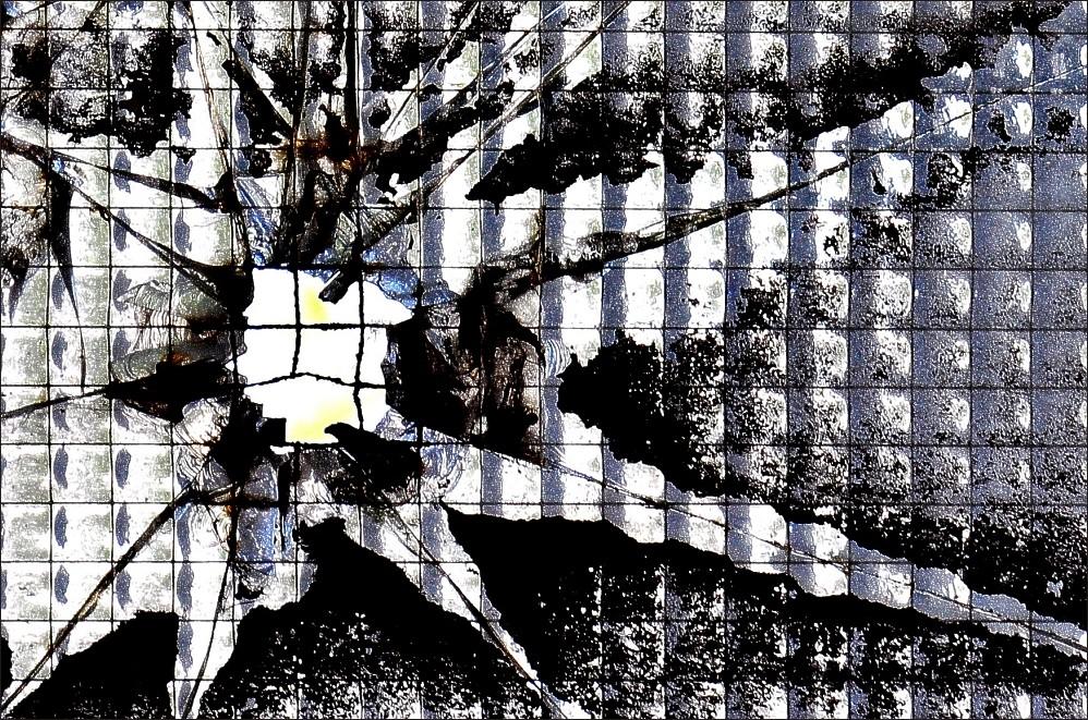 Glaskunst … Zerstörungswut in der Henrichshütte Hattingen