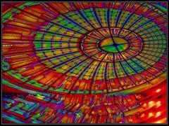 Glaskuppel abstrakt