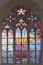 Glasmosaik im St. Veitsdom auf der Burg