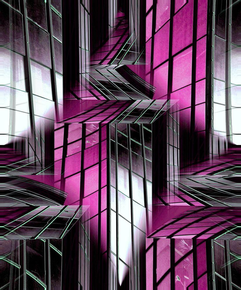 Glaswelt Pink