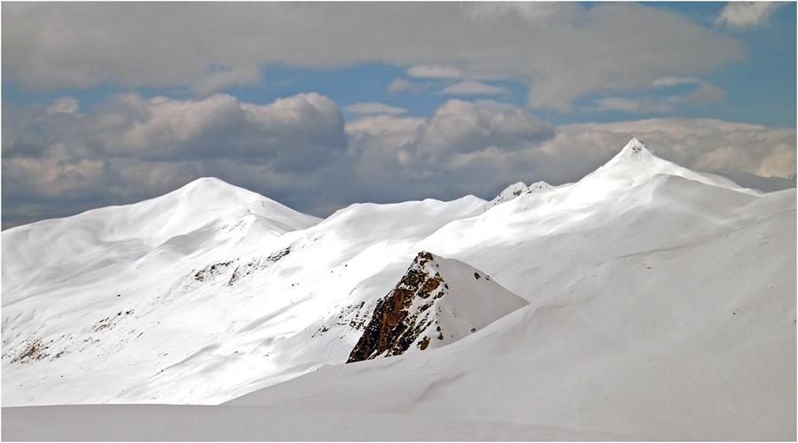 Gleich drei Gipfel gilt's heute zu knacken...