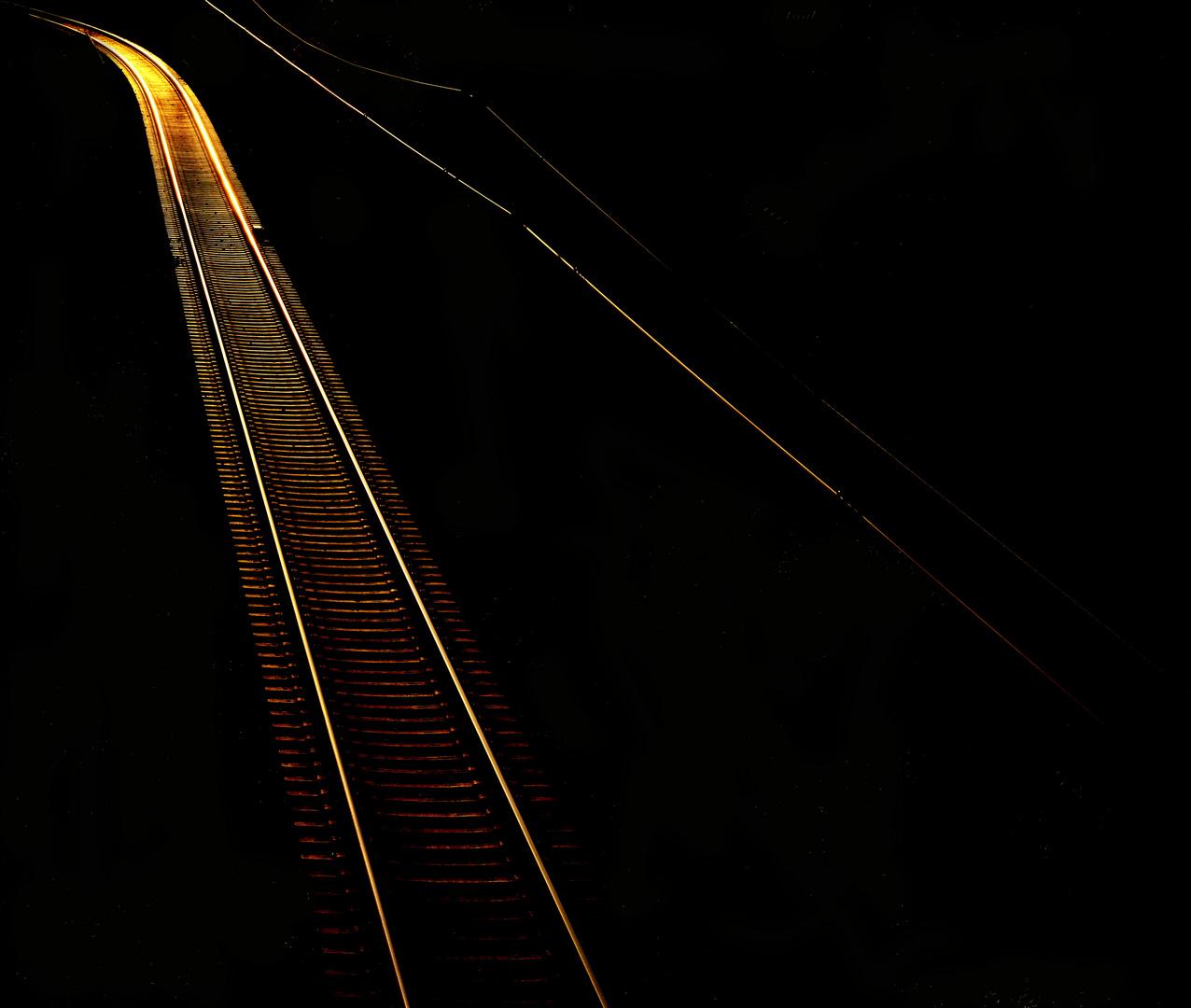 Gleis - wohin der Weg auch führt.....
