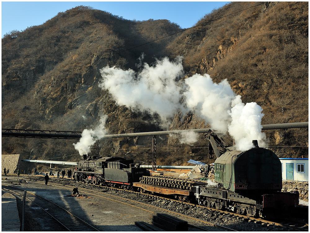 Gleisbau im Stahlwerk II
