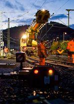 Gleisbauarbeiten XIX