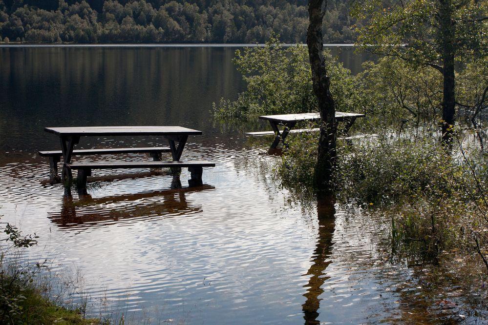 Glen Affric unter Wasser